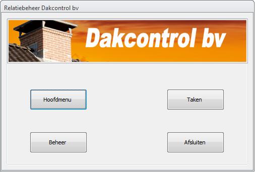 Relatiebeheer Dakcontrol